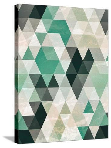 Triangle Pattern-Tai Prints-Stretched Canvas Print