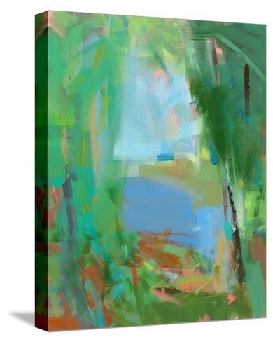 Summer Swim-Angela Saxon-Stretched Canvas Print