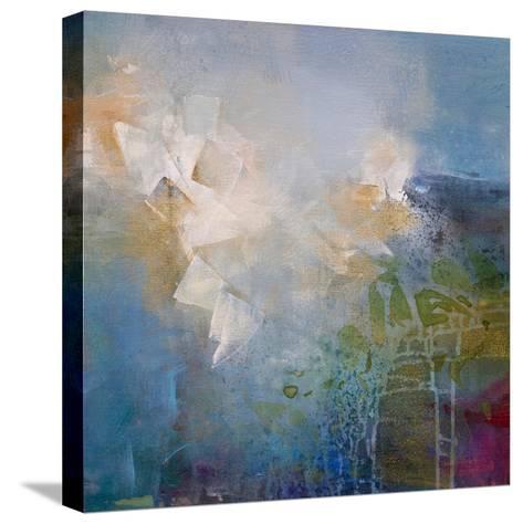 Segments-Karen Hale-Stretched Canvas Print