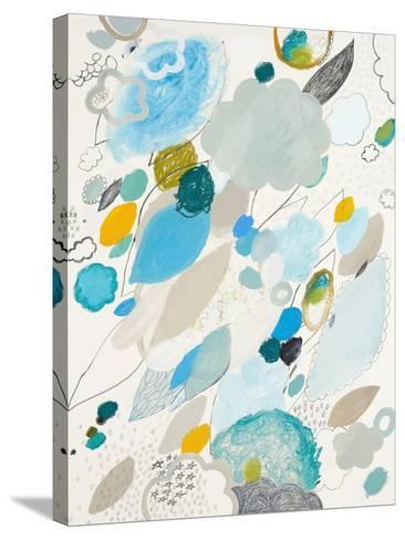 Blue Lightening-Maggie Kleinpeter-Stretched Canvas Print