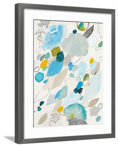 Blue Lightening-Maggie Kleinpeter-Framed Art Print