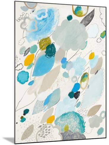 Blue Lightening-Maggie Kleinpeter-Mounted Art Print