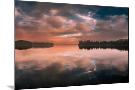 Western Sunset-Vladimir Kostka-Mounted Photographic Print