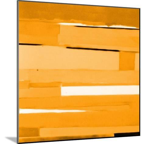 Gold Monochromatic-Gil Miller-Mounted Art Print
