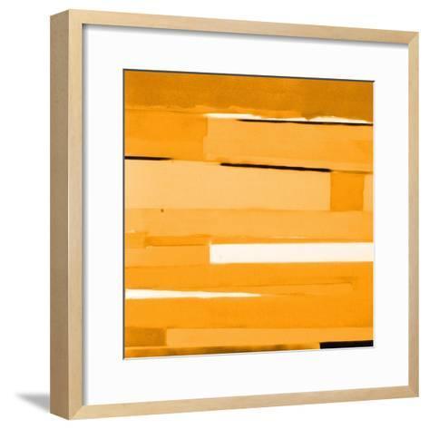 Gold Monochromatic-Gil Miller-Framed Art Print