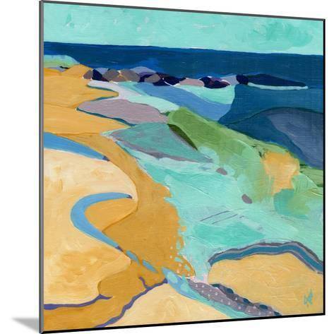 Seaside-Ann Thompson Nemcosky-Mounted Art Print
