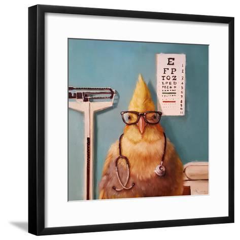 Featherologist-Lucia Heffernan-Framed Art Print