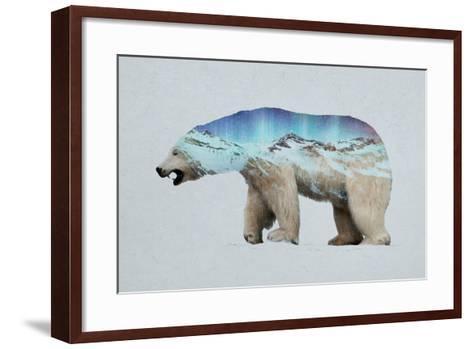The Arctic Polar Bear-Davies Babies-Framed Art Print