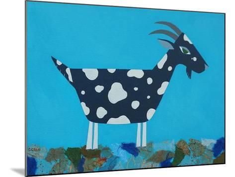 Fergus the Goat-Casey Craig-Mounted Art Print