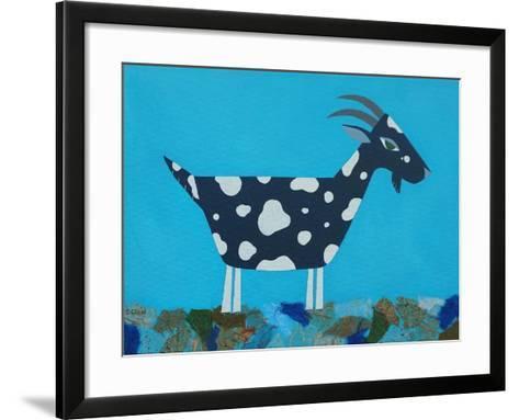 Fergus the Goat-Casey Craig-Framed Art Print