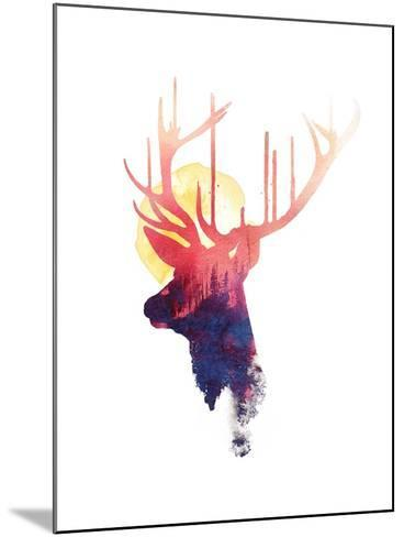 The Burning Sun-Robert Farkas-Mounted Art Print