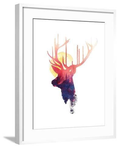 The Burning Sun-Robert Farkas-Framed Art Print