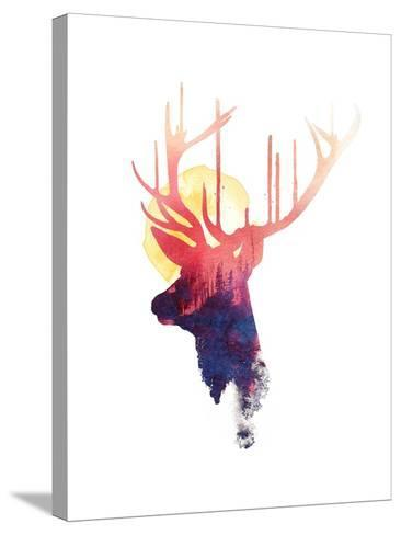 The Burning Sun-Robert Farkas-Stretched Canvas Print