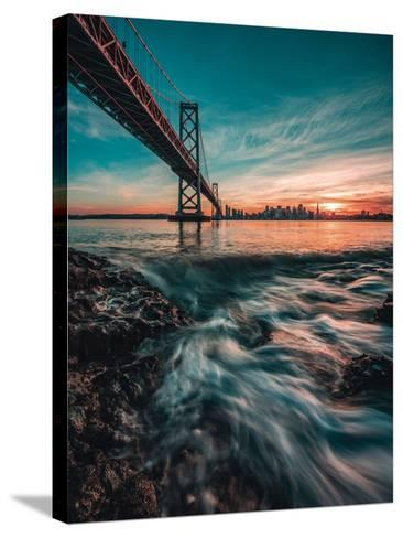 Down by the Water-Bruce Getty-Stretched Canvas Print