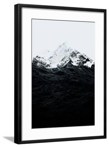 Those Waves Were Like Mountains-Robert Farkas-Framed Art Print