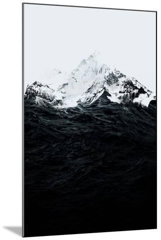 Those Waves Were Like Mountains-Robert Farkas-Mounted Art Print