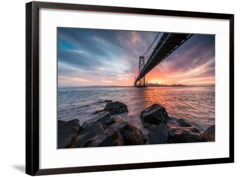 Golden Light Explosion-Bruce Getty-Framed Art Print