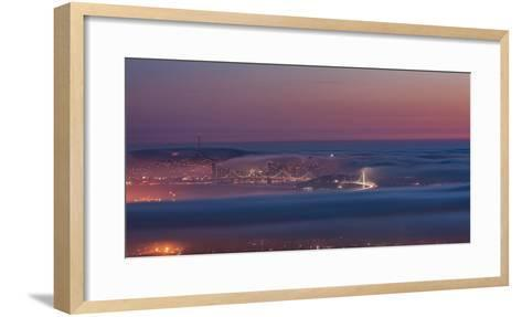 Grizzly Beacon-Bruce Getty-Framed Art Print