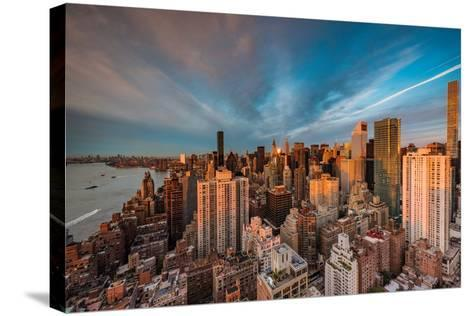 New York Morning-Bruce Getty-Stretched Canvas Print