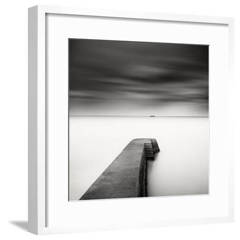 The Jetty-Study #1-Wilco Dragt-Framed Art Print