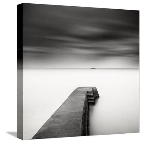 The Jetty-Study #1-Wilco Dragt-Stretched Canvas Print