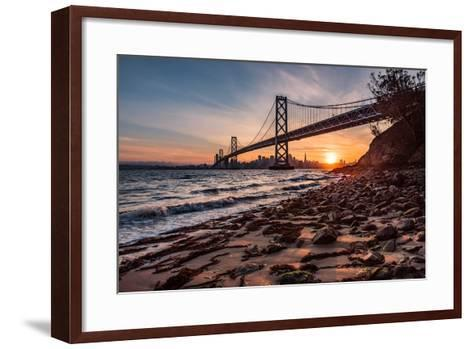 Sunset from the Island 2-Bruce Getty-Framed Art Print