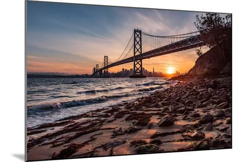 Sunset from the Island 2-Bruce Getty-Mounted Photographic Print