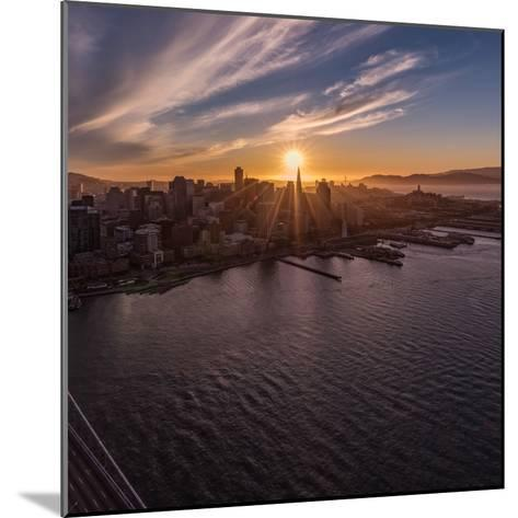Sunset Explosion 2-Bruce Getty-Mounted Photographic Print