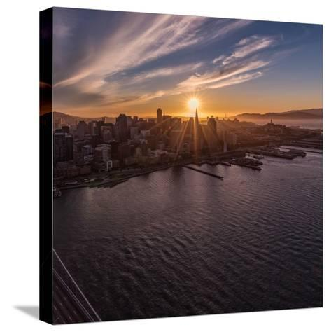 Sunset Explosion 2-Bruce Getty-Stretched Canvas Print