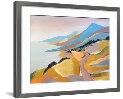 Monterey to the Sea-Pete Oswald-Framed Art Print