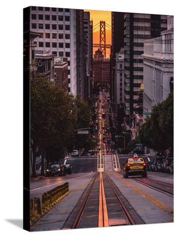The Cab-Bruce Getty-Stretched Canvas Print