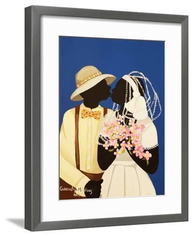You May Kiss the Bride-Cassandra Gillens-Framed Art Print