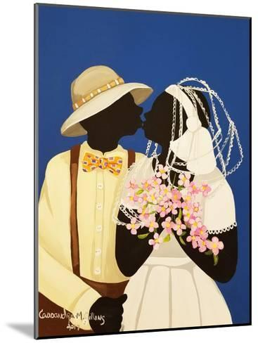 You May Kiss the Bride-Cassandra Gillens-Mounted Art Print