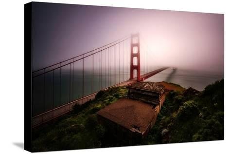 White Out-Bruce Getty-Stretched Canvas Print