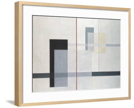 K VII-L?l? Moholy-Nagy-Framed Art Print