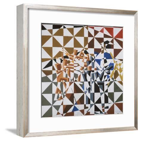 Ju-Jitsu-David Bomberg-Framed Art Print