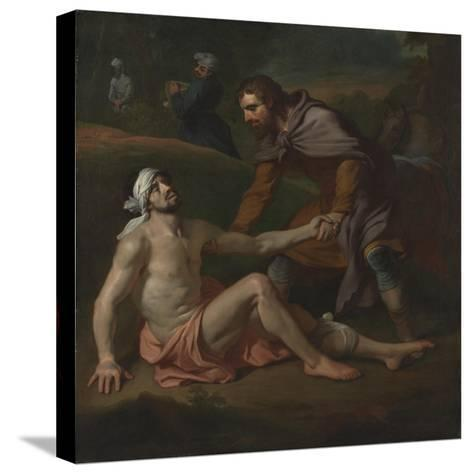 The Good Samaritan-Joseph Highmore-Stretched Canvas Print