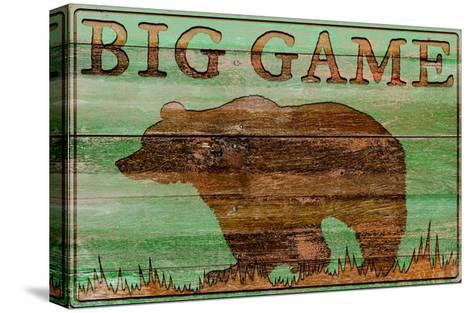 Big Game Bear-Cora Niele-Stretched Canvas Print