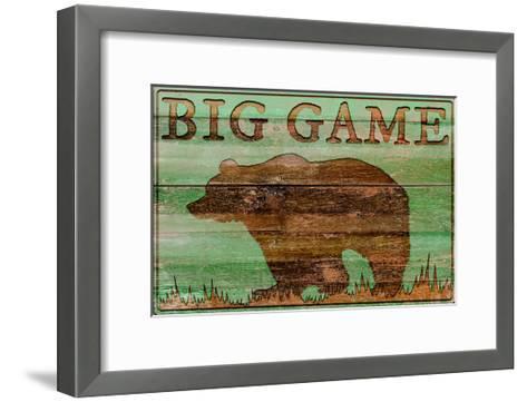 Big Game Bear-Cora Niele-Framed Art Print
