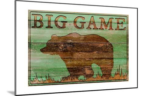Big Game Bear-Cora Niele-Mounted Art Print