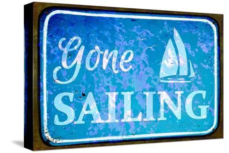 Gone Sailing-Cora Niele-Stretched Canvas Print