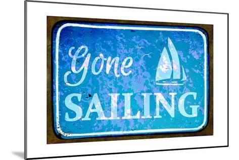 Gone Sailing-Cora Niele-Mounted Art Print