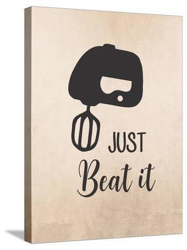 Just Beat It-Tamara Robinson-Stretched Canvas Print