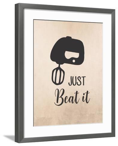 Just Beat It-Tamara Robinson-Framed Art Print