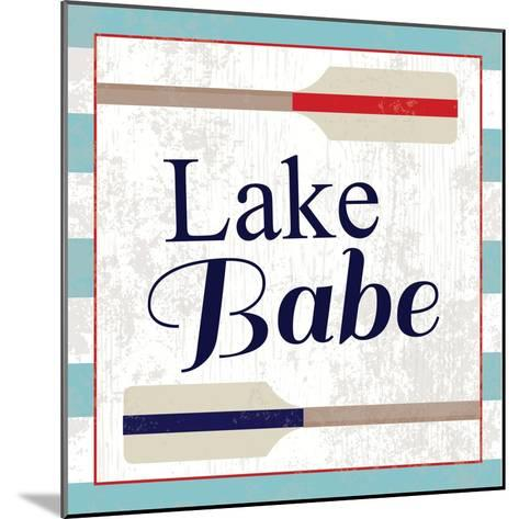 Lake III-ND Art-Mounted Art Print