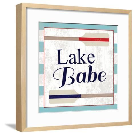 Lake III-ND Art-Framed Art Print