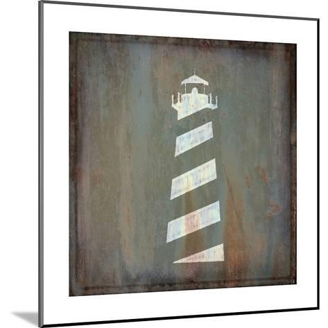 Lighthouse-Cora Niele-Mounted Art Print