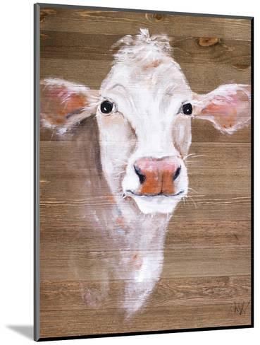 White Cow-Molly Susan-Mounted Art Print