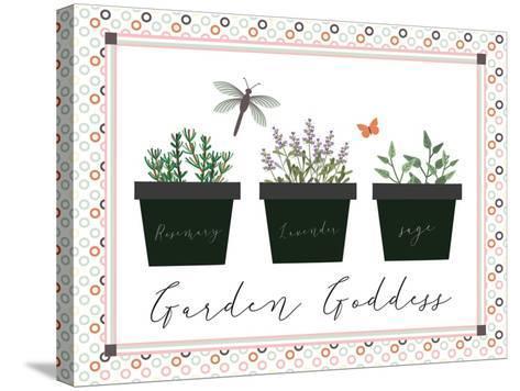 Garden II-ND Art-Stretched Canvas Print