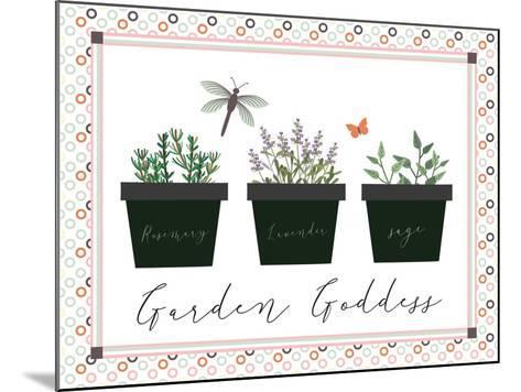 Garden II-ND Art-Mounted Art Print
